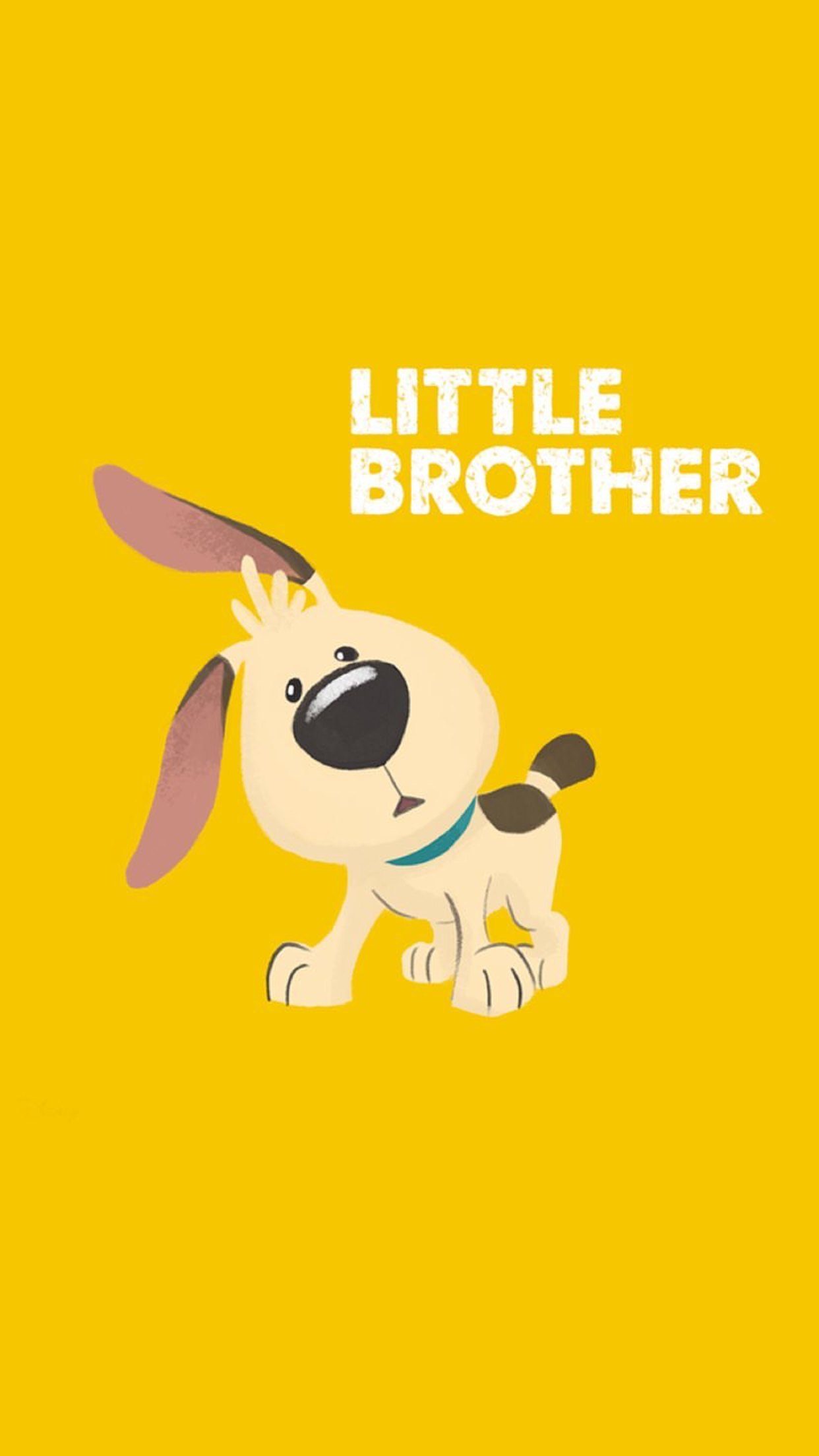 Little Brother from Disneys Mulan Dog Puppy lock screen 1242x2208