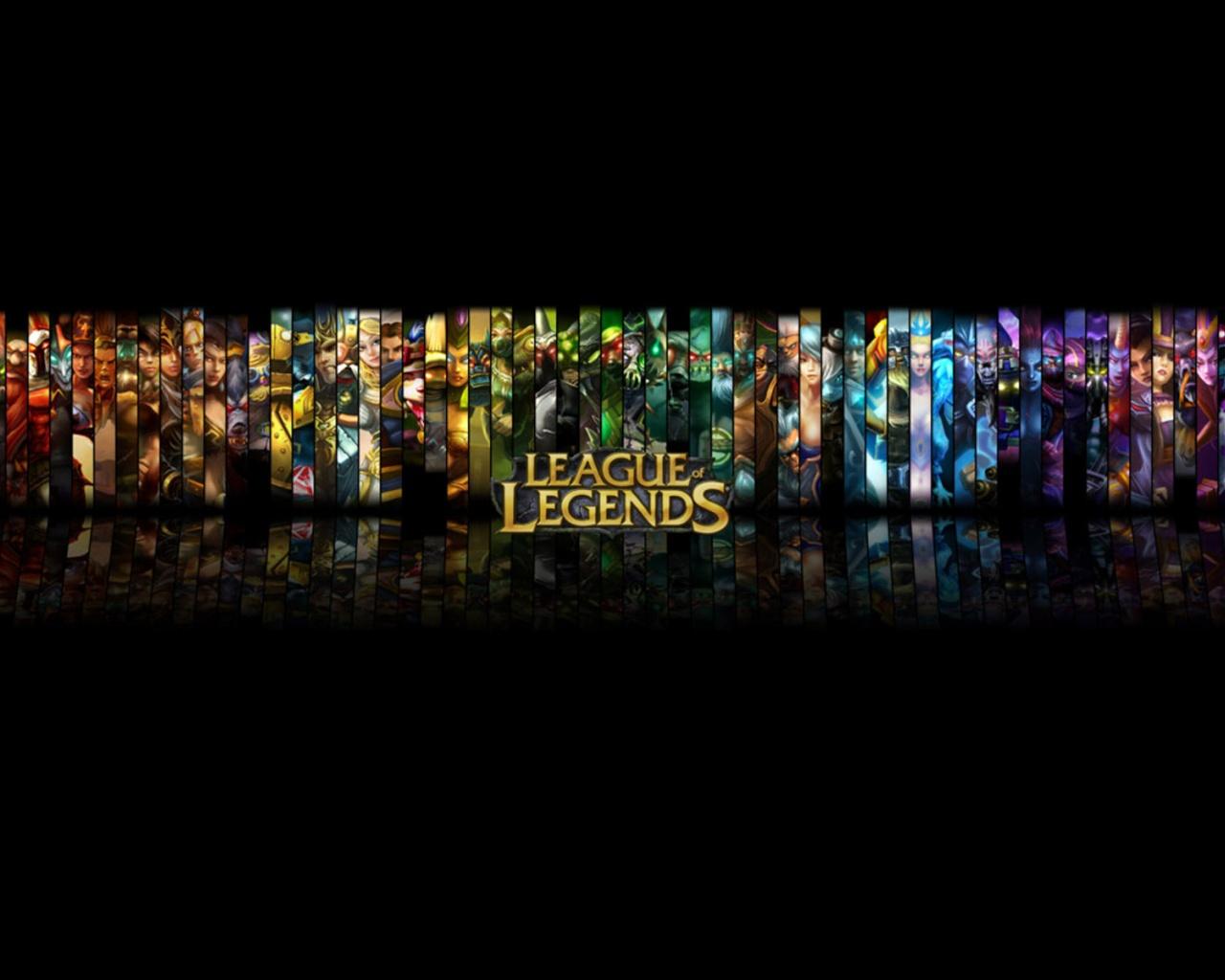 ... League of Legends Black Background desktop PC and Mac wallpaper