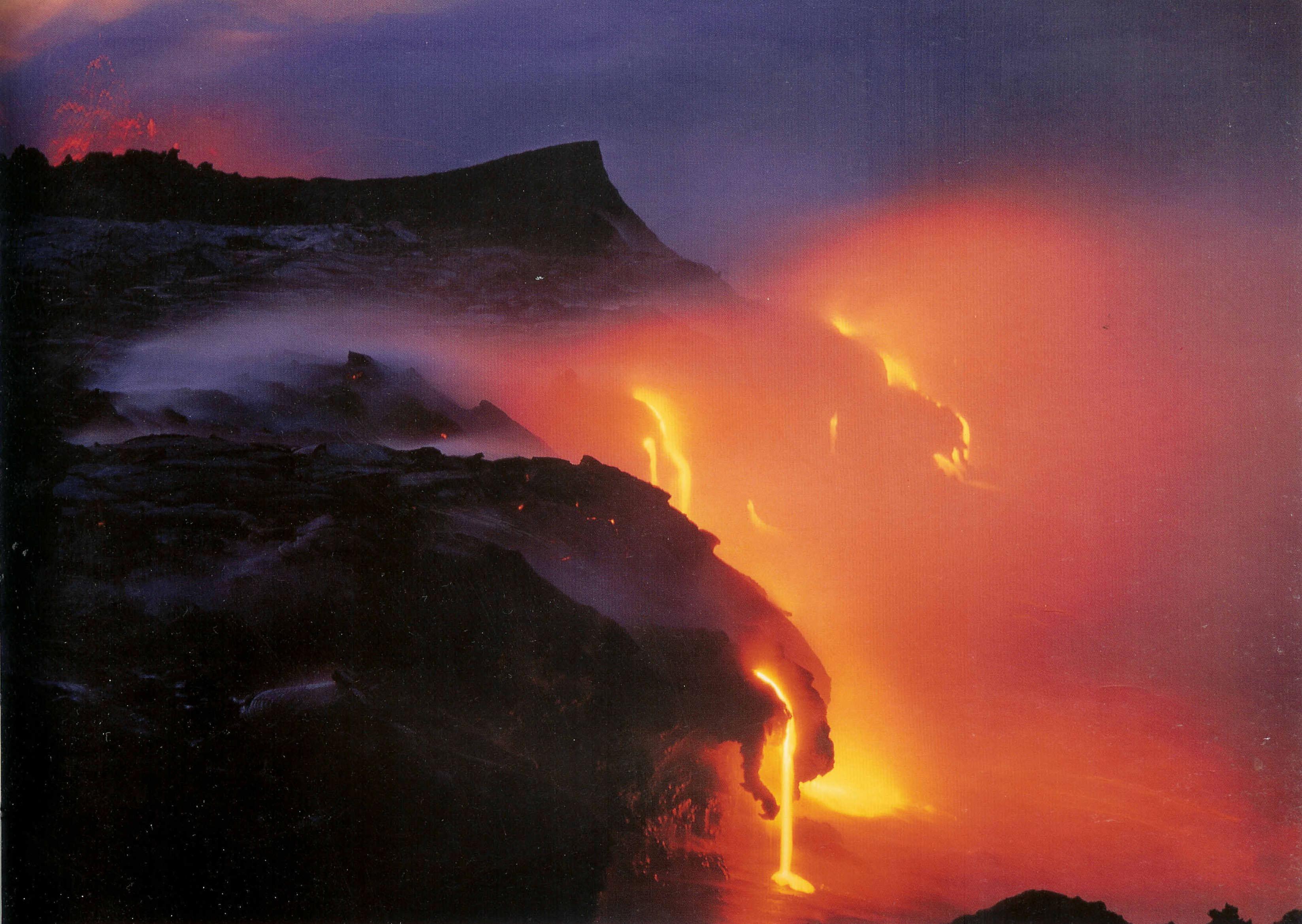Volcano Kilauea Hawaii Lava Riverjpg 3295x2339