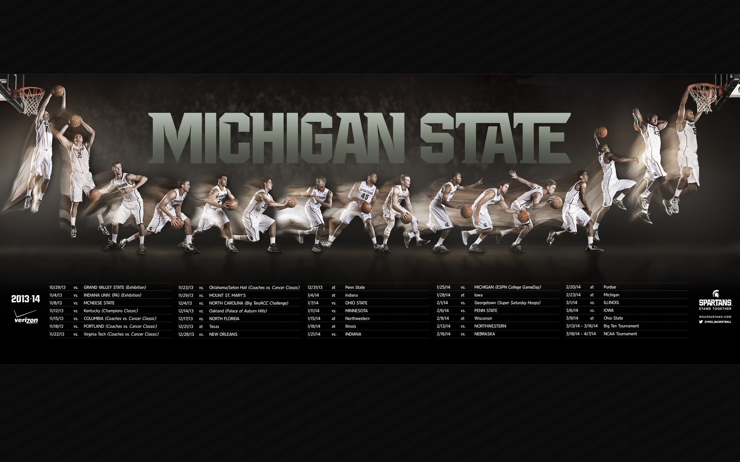 Michigan State Spartans Football Wallpaper comschoolsmsugraphics 2560x1600