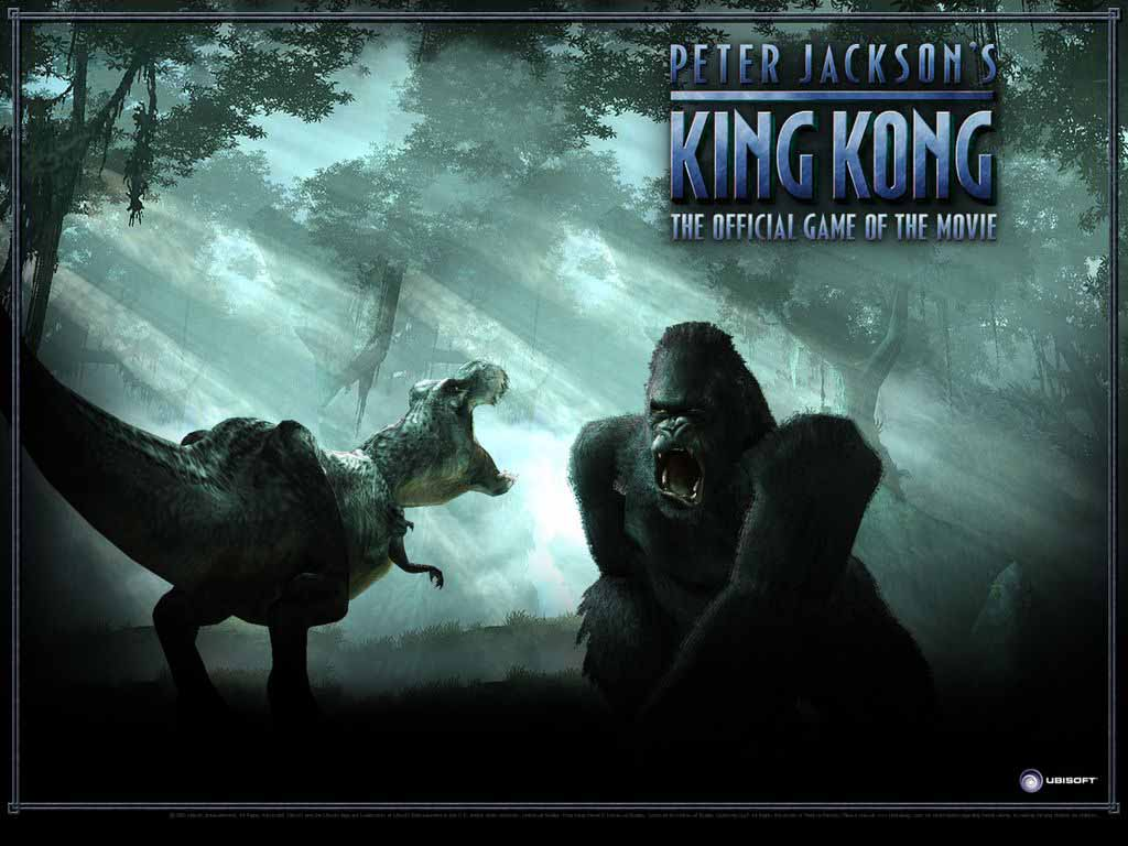 King kong wallpaper and screensavers wallpapersafari - King kong 2005 hd wallpapers ...