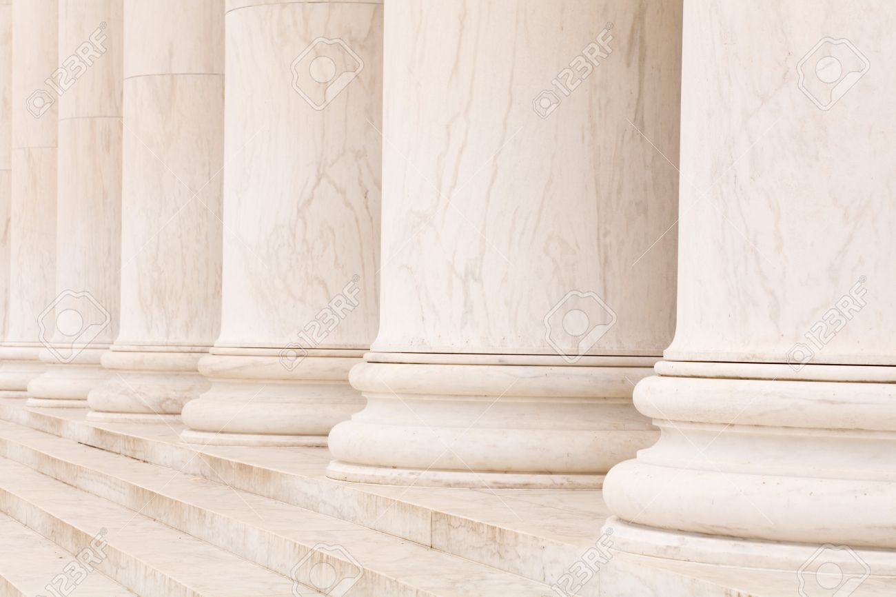 Marble Stone Columns In A Row And Steps Ideal For Classic 1300x866