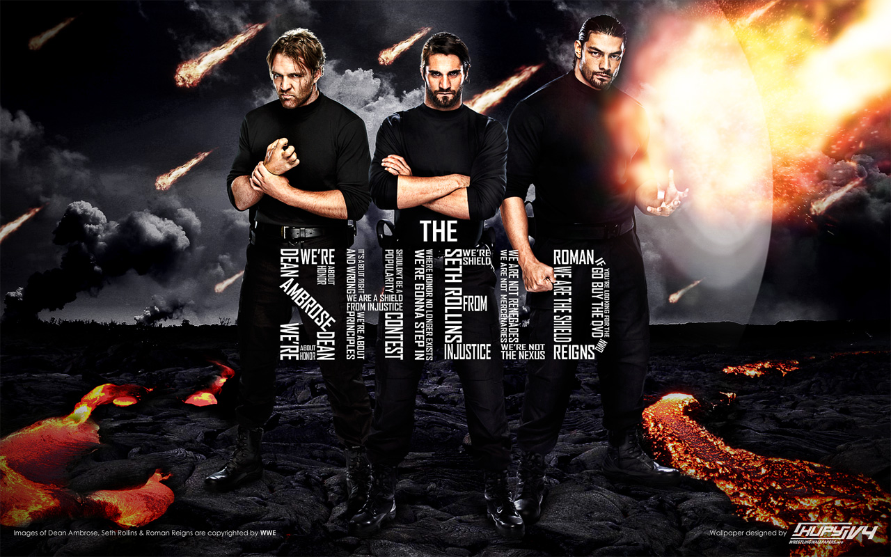 The Shield   WWE Wallpaper 32971723 1280x800