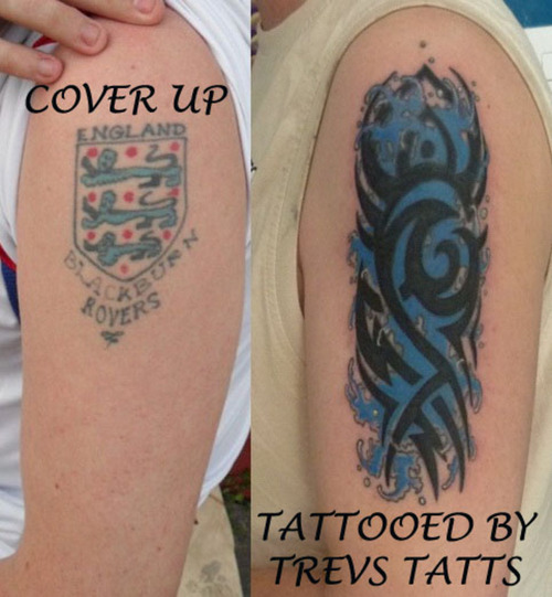 tribal tattoo cover up ideas 126 Tribal Tattoo Cover Up Ideas 500x541