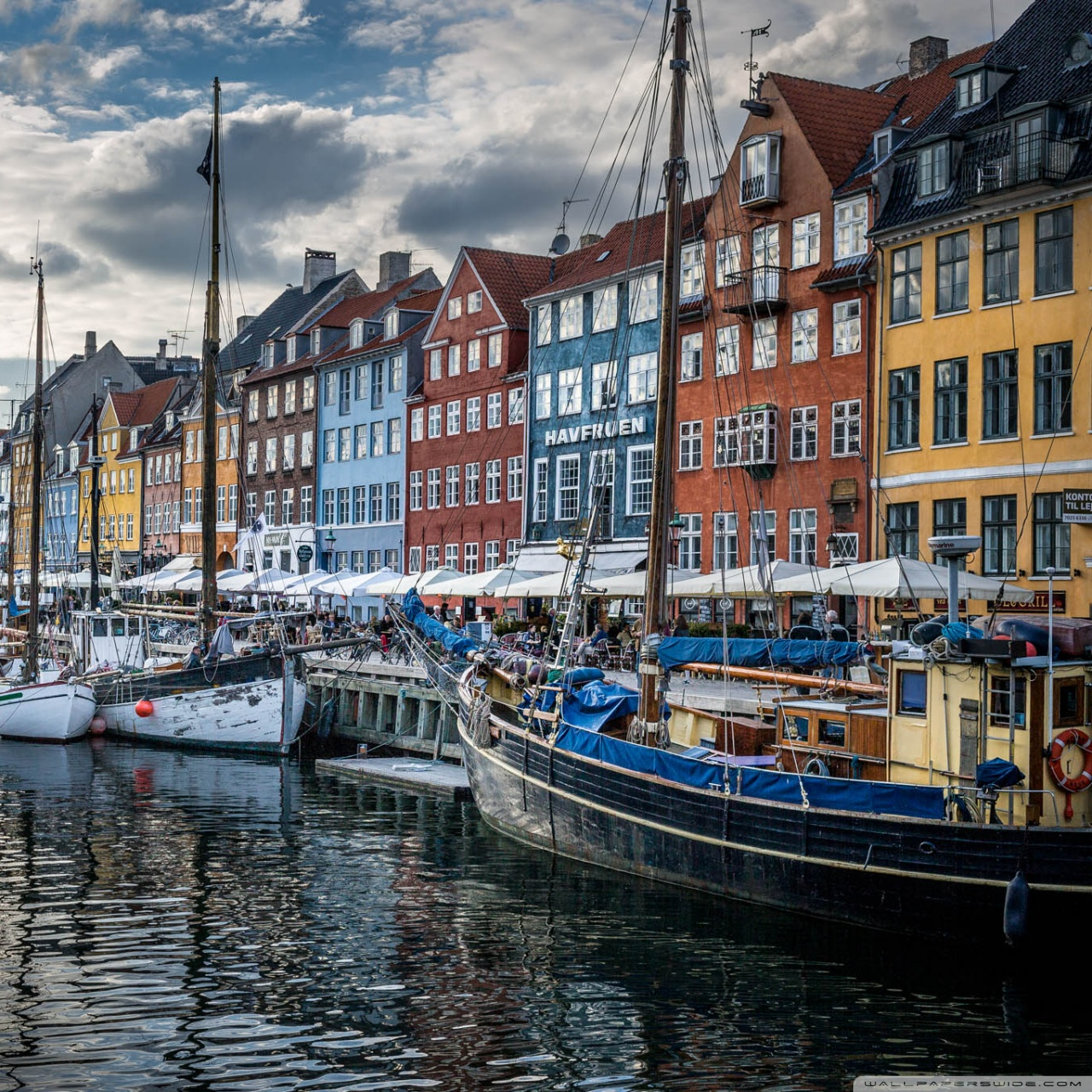 Copenhagen Denmark 4K HD Desktop Wallpaper for 4K Ultra HD TV 1280x1280