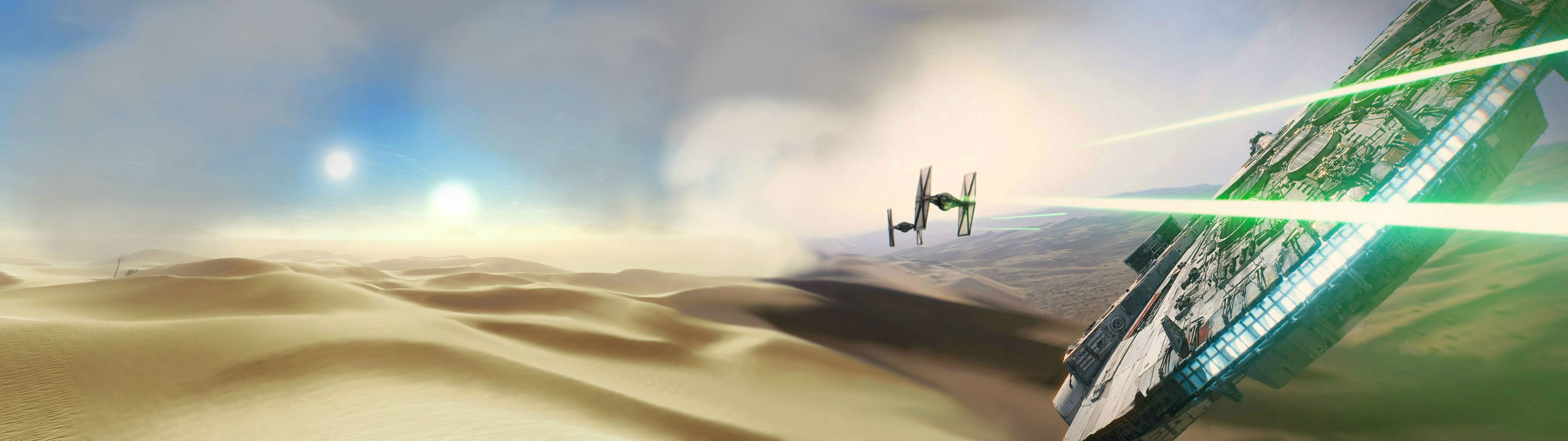 49 Panoramic Star Wars Wallpaper 3840x1080 On Wallpapersafari