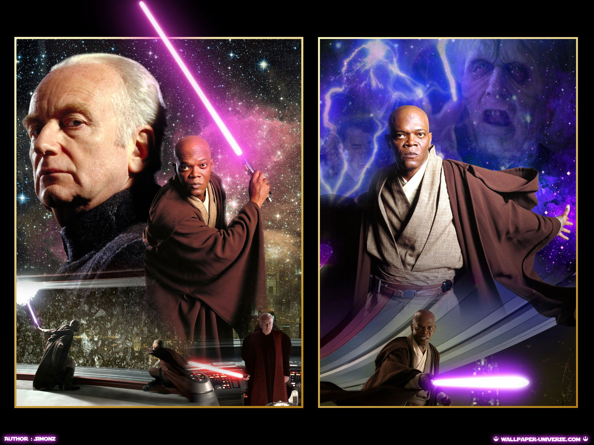 ROTS Ep III   Palpatine vs Mace Windu   Star Wars Revenge of 1920x1440