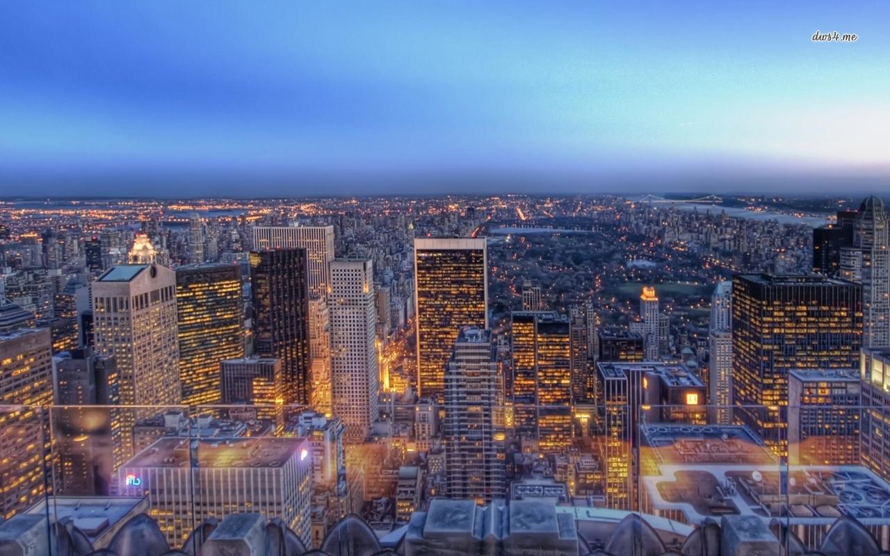 New York City lights wallpaper   World wallpapers   44691 1280x800