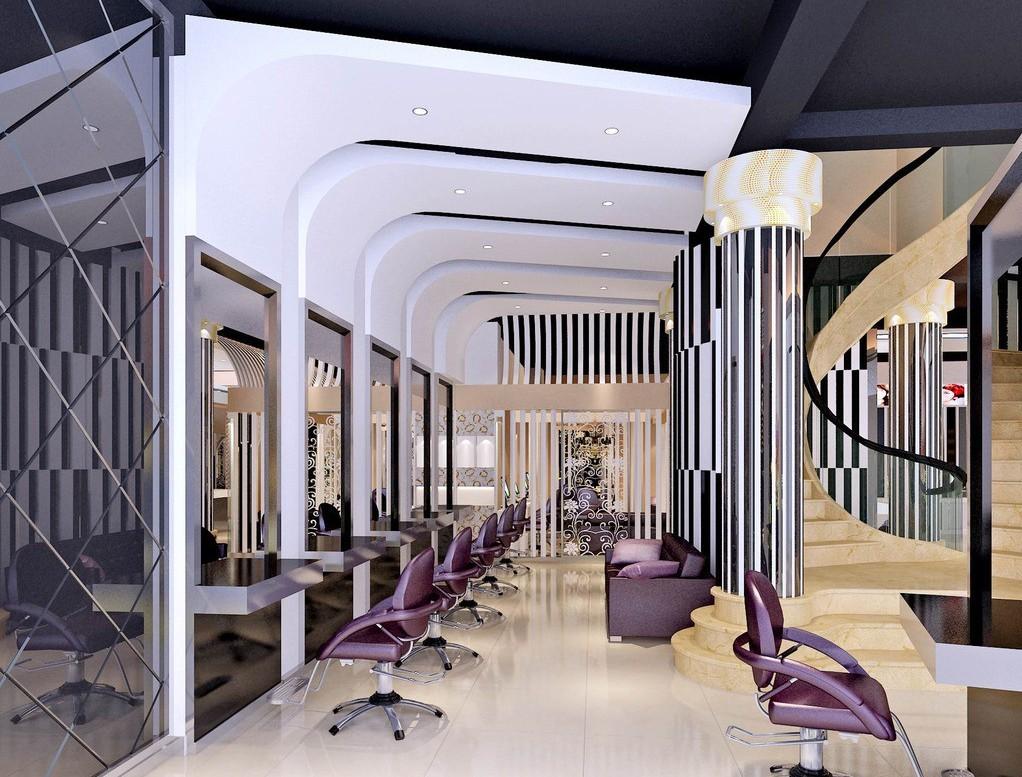 fashion hair salon interior design hair salon interior design red 1022x777