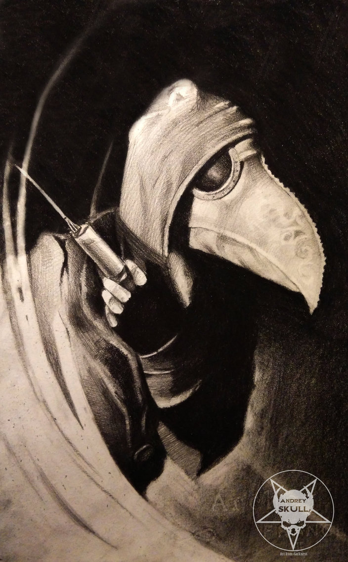 Plague doctor by AndreySkull 704x1135