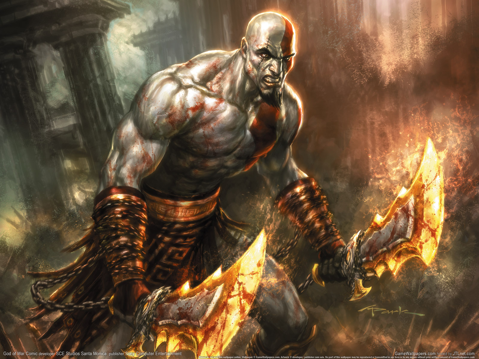 Fuentes de Informacin   Mega Post Wallpaper HD God Of War 1600x1200