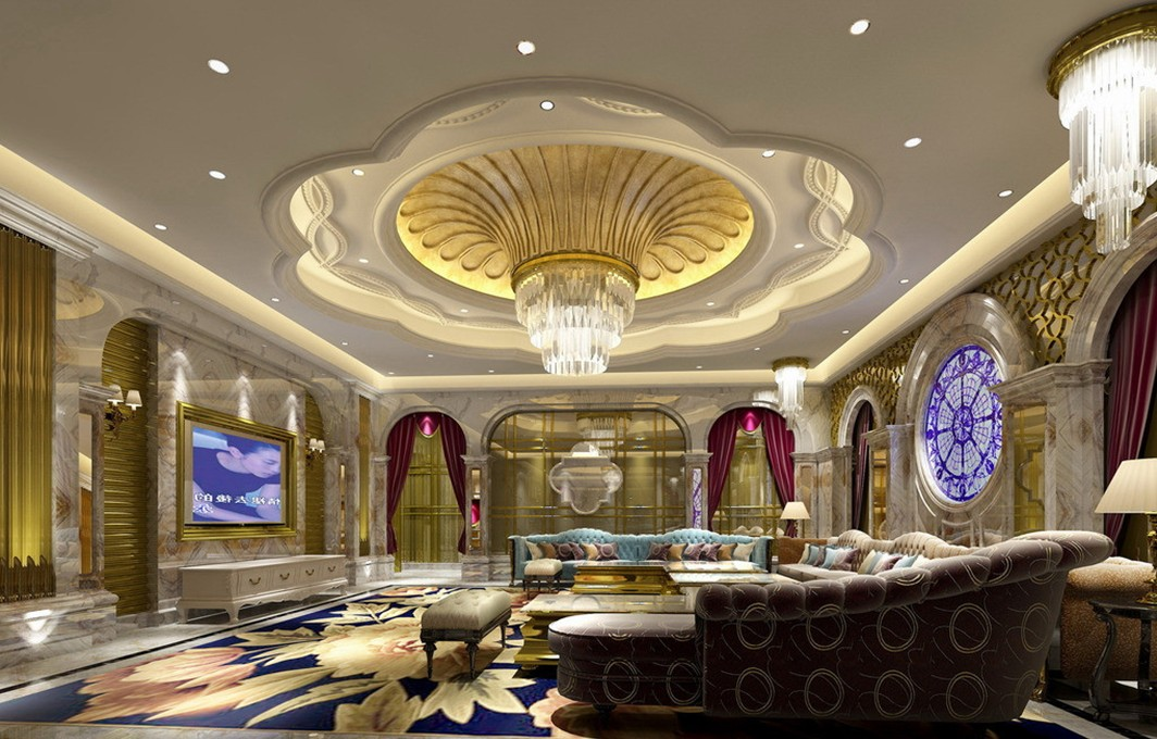 Palace interior wallpaper 3D house 3D house pictures and 1064x680