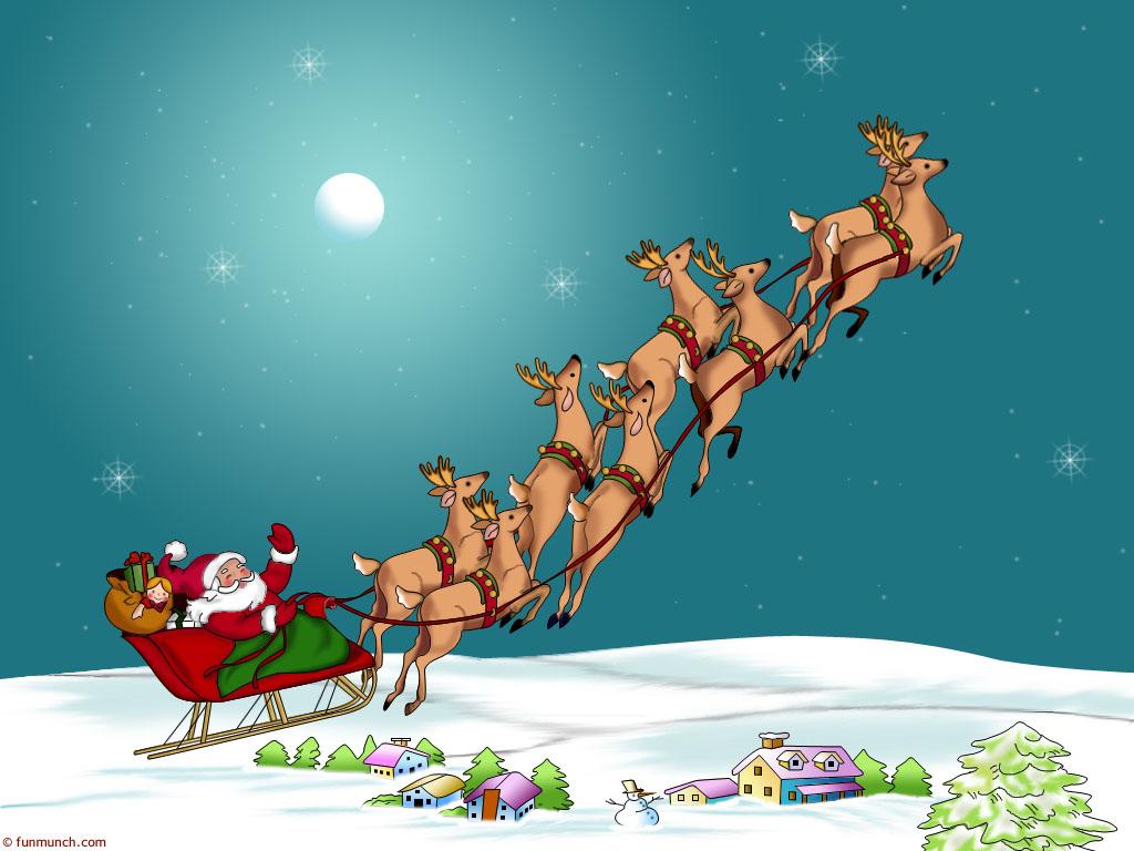 Beautiful Christmas Wallpapers   Christmas backgrounds 1024x768