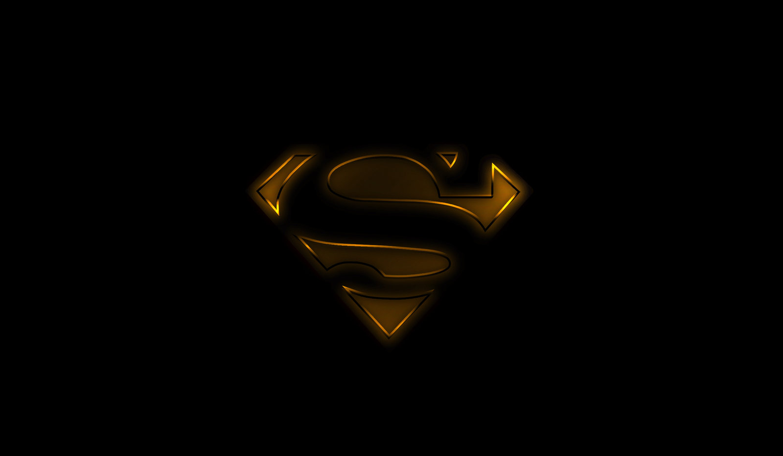 Black superman logo wallpaper wallpapersafari for Deviantart wallpaper