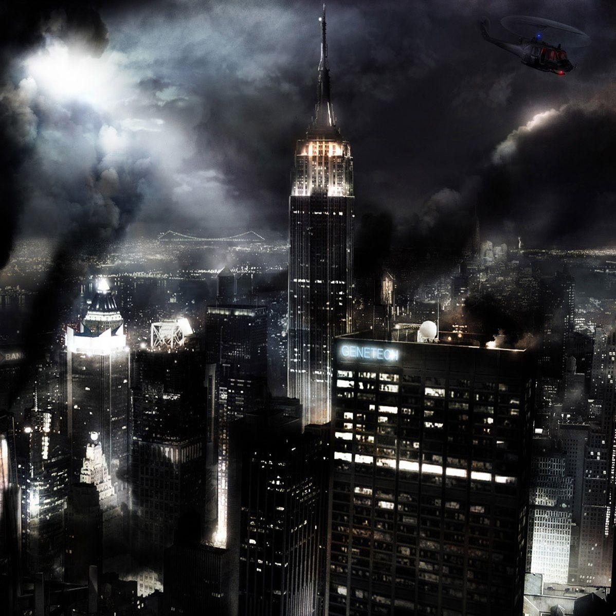 Dark City Backgrounds 1198x1198