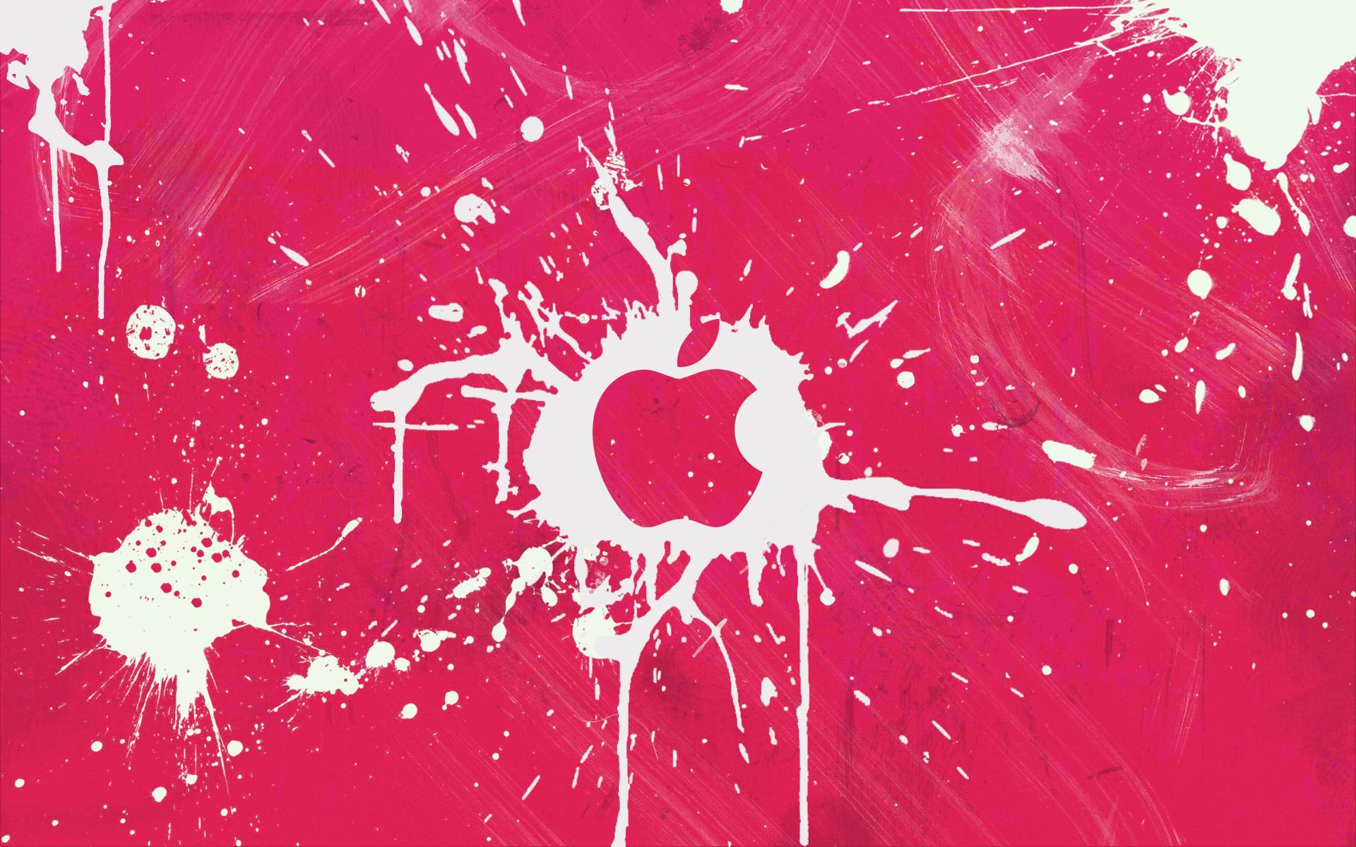 apple wallpaper desktop wallpapers pink windows mac 1920x1200