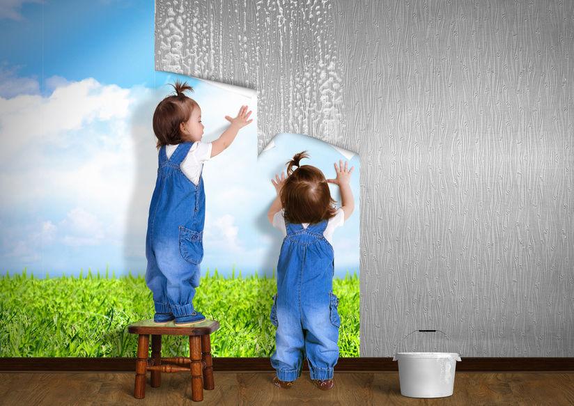 How To Hang Wallpaper Over Wallpaper Wallpapersafari