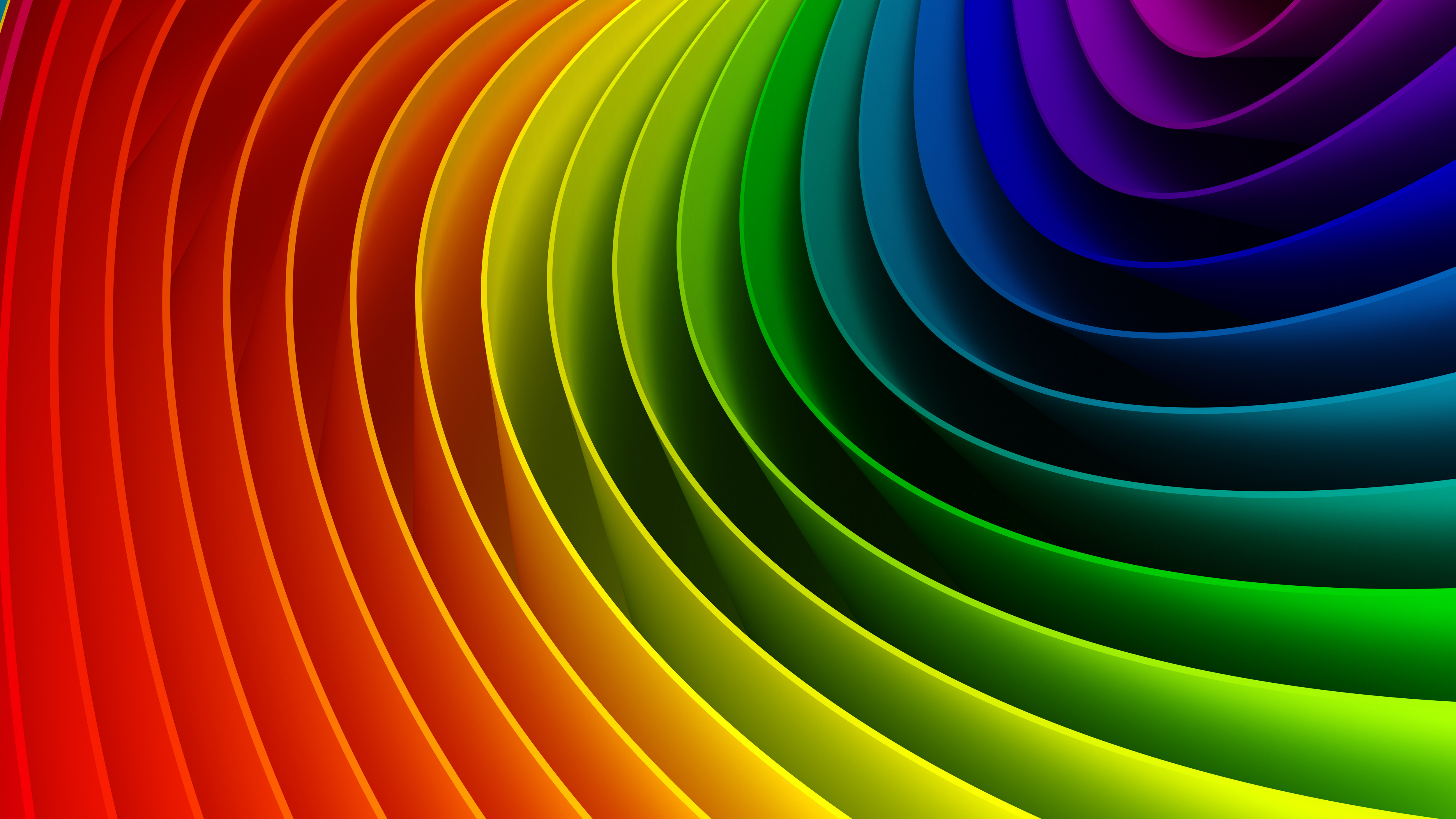 Background image and color - Background Color Rainbow Spectrum Bandwidth Background Wallpaper