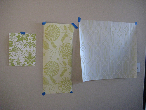 wallpaper for my dining room Samples I ordered from Sherwin 500x375