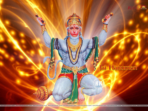 Hanuman Wallpapers Lord Hanuman Wallpaper Flickr   Photo Sharing 500x375