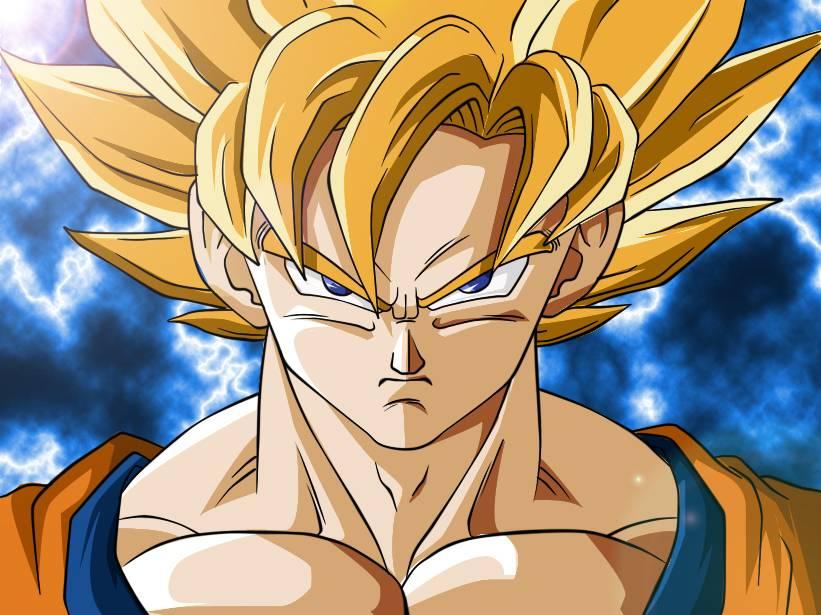 Goku ssj1   Dragonball Z anime Wallpaper 821x615