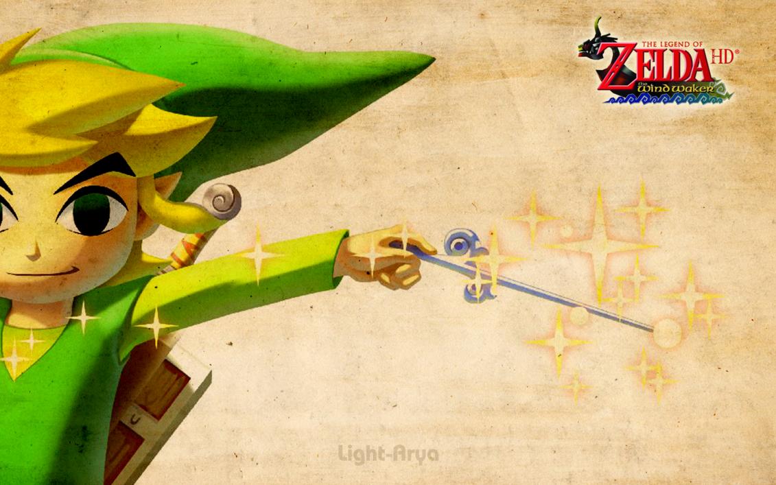 Toon Link   TLoZ Wind Waker HD by Light Arya 1131x707