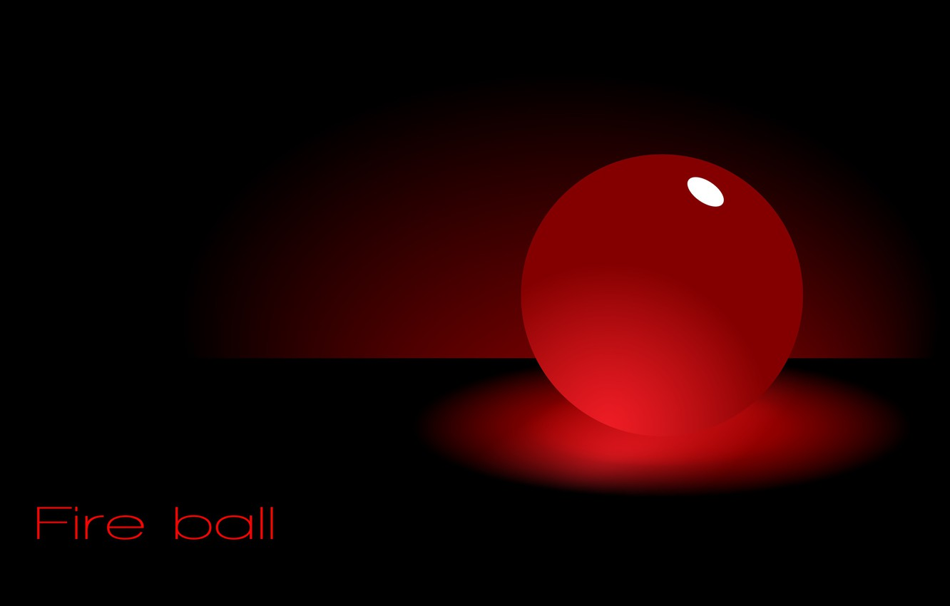 Wallpaper red ball the Wallpapers fireball Fire ball images 1332x850