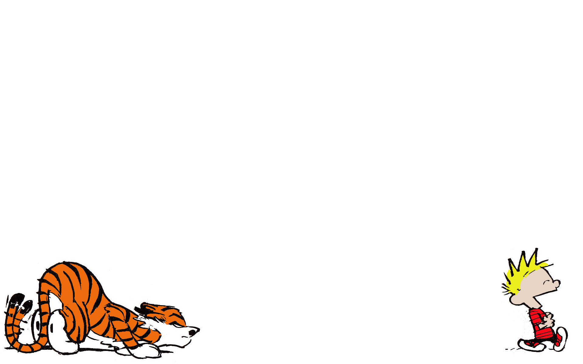 Calvin and Hobbes Wallpapers HD 1920x1200