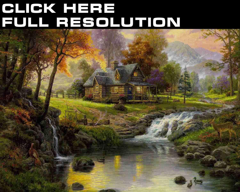 Thomas Kinkade wallpapers 89 photos download for your desktop 1500x1200