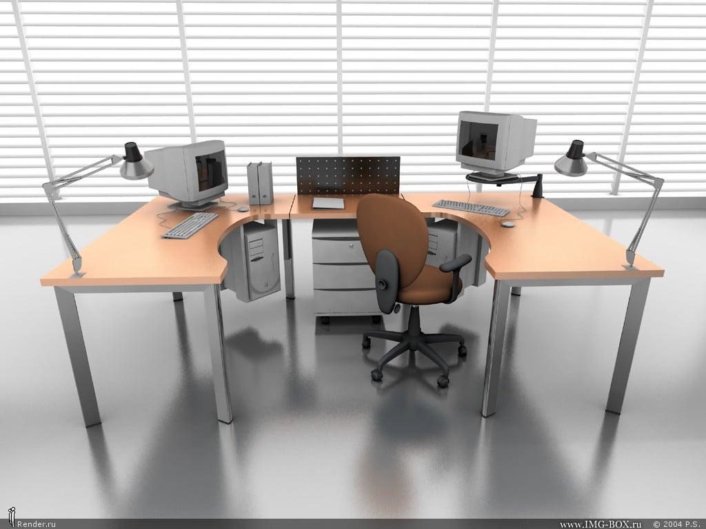 3d Office Best Wallpapers On Your Desktop 1024x768