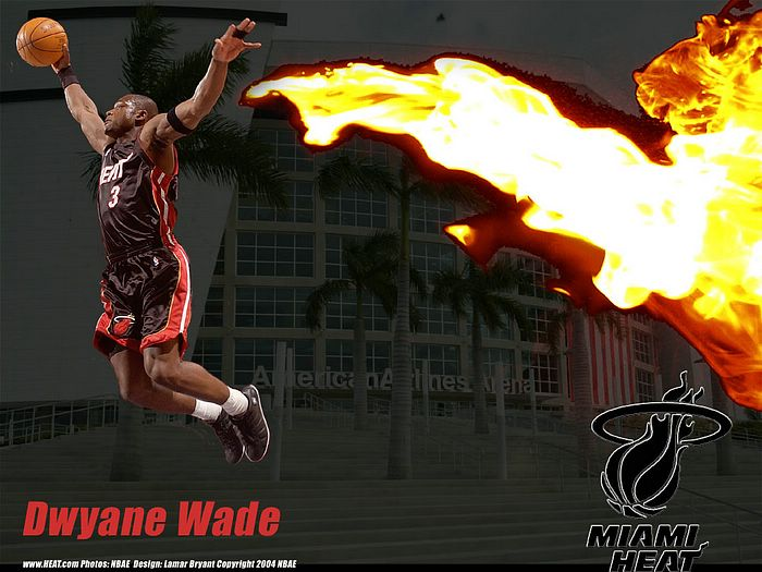 Miami Heat Offical Wallpapers   NBA Miami Heat Dwyane Wade pictures 34 700x525