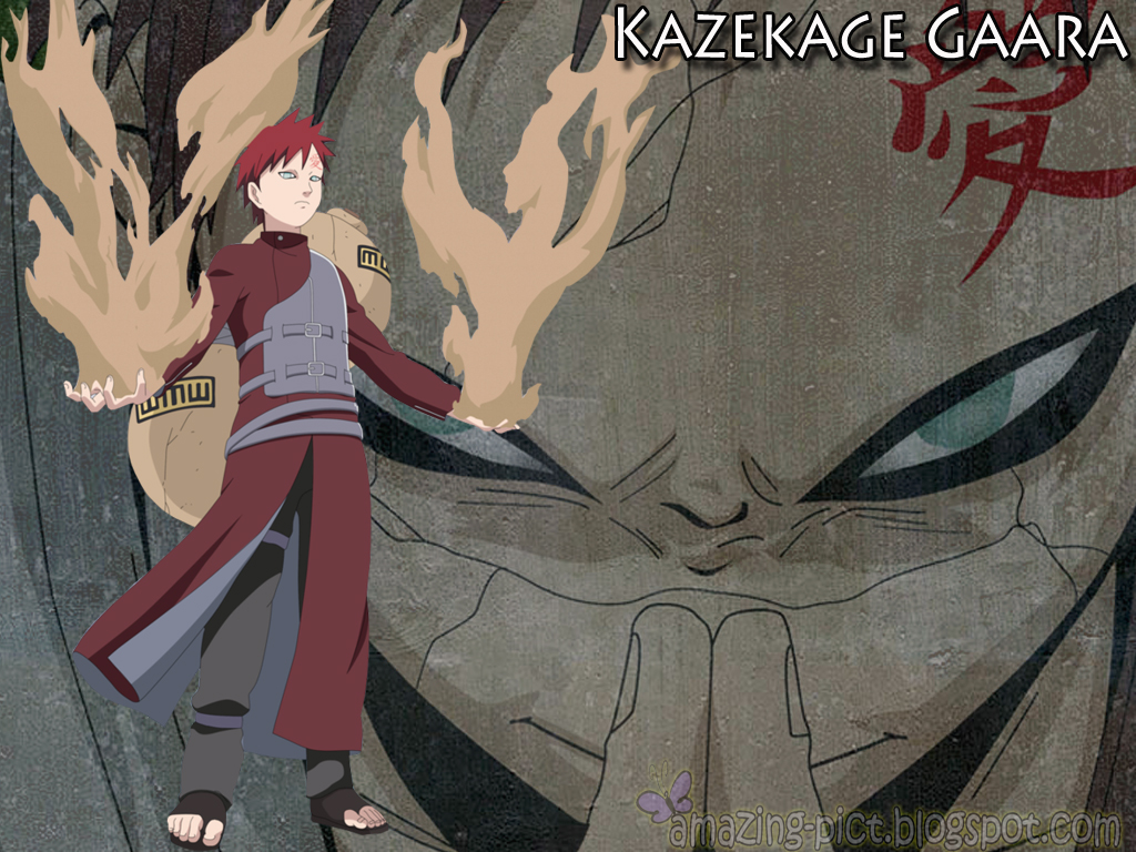 Kazekage Gaara Cool Wallpapers HD Amazing Picture 1024x768