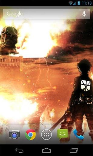 Attack on Titan Live Wallpaper Screenshot 2 307x512