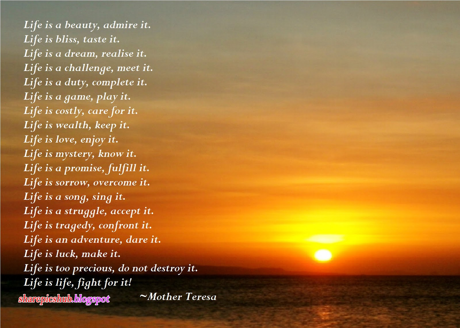 Teresa Beautiful Poem in English Mother Teresa Quotes Wallpapers 1600x1141