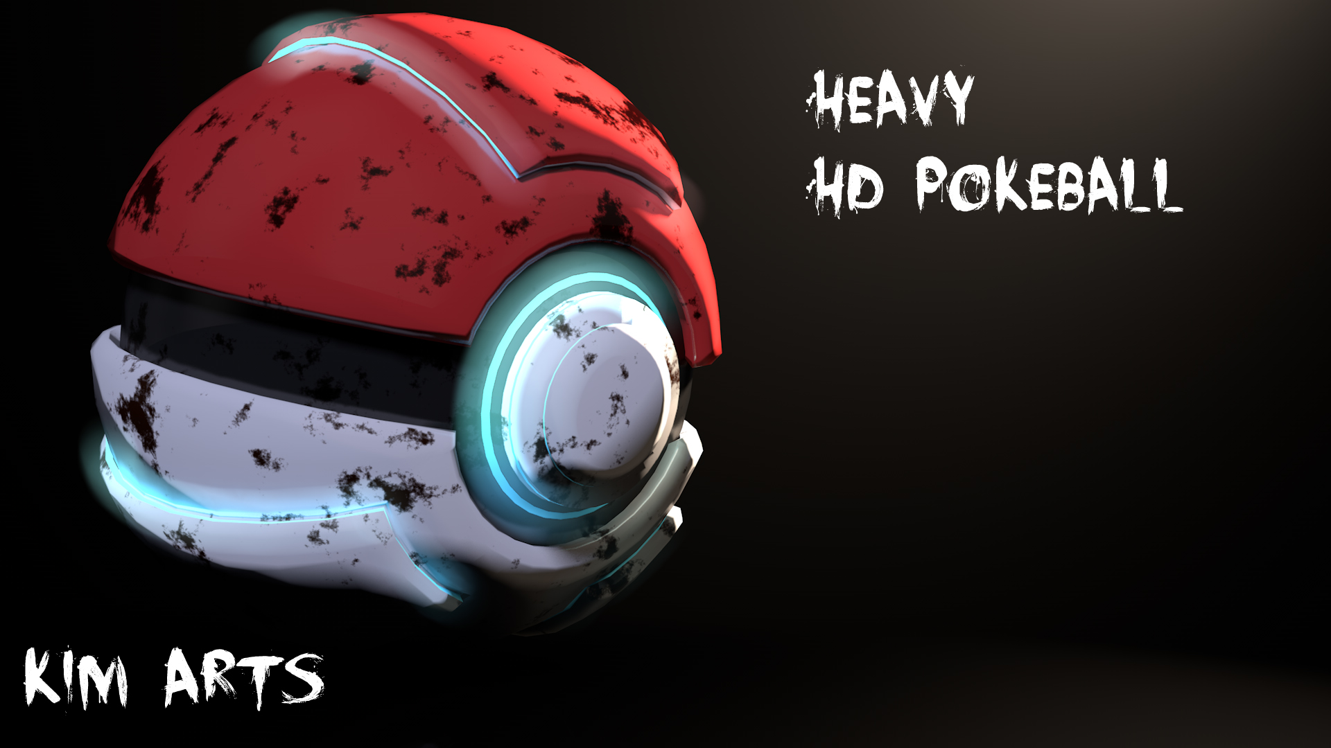 Heavy HD Pokeball by andrekrv 1920x1080
