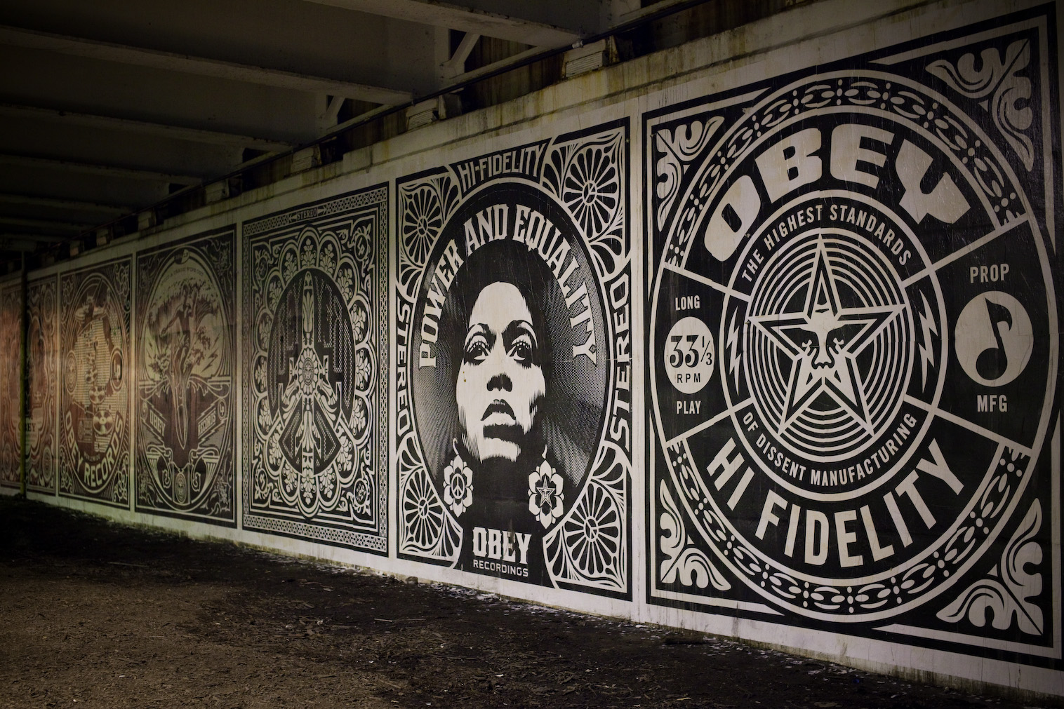 Obey Art Wallpaper Hd Obey revolutions murals in 1516x1011