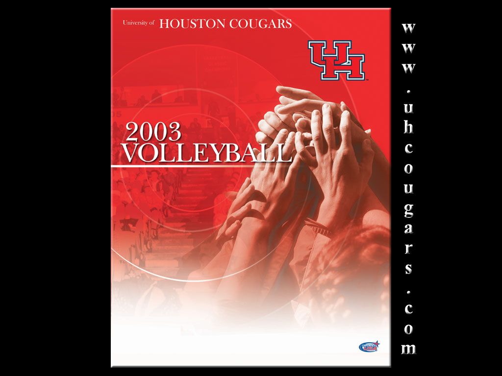 Volleyball Wallpaper   University of Houston Athletics UH Cougars 1024x768