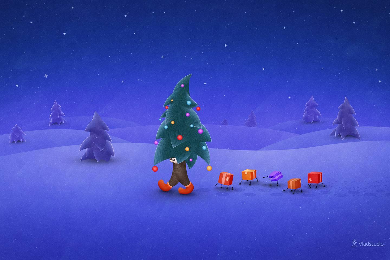 Christmas Desktop Wallpaper for Mac Windows and Linux 1440x960