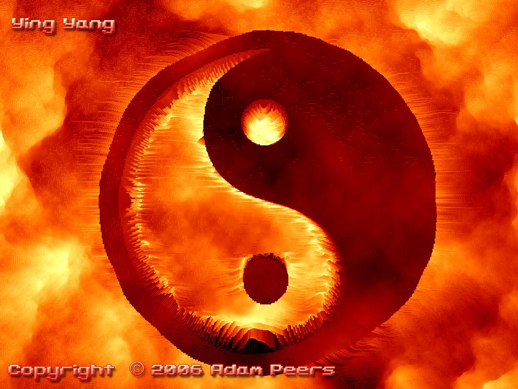Ying Yang IPhone Wallpaper