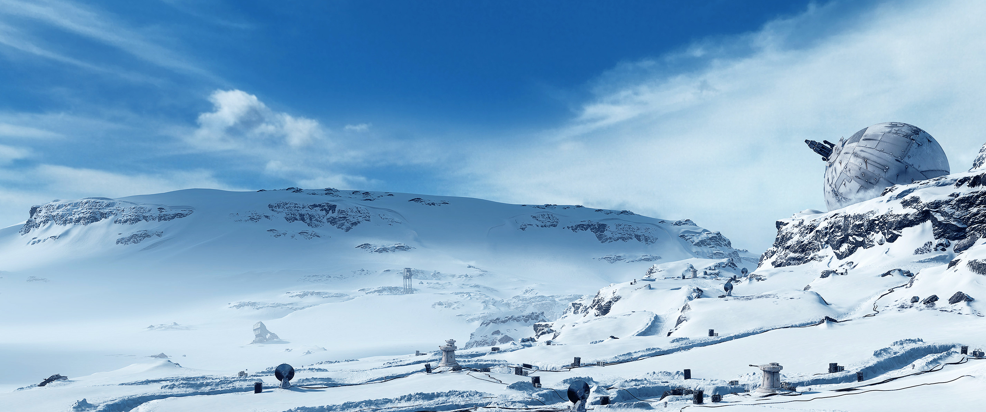 Free Download Star Wars Ultra Widescreen Backgrounds Album On Imgur 3440x1440 For Your Desktop Mobile Tablet Explore 37 Star Wars Snow Background Star Wars Snow Background Star Wars Star