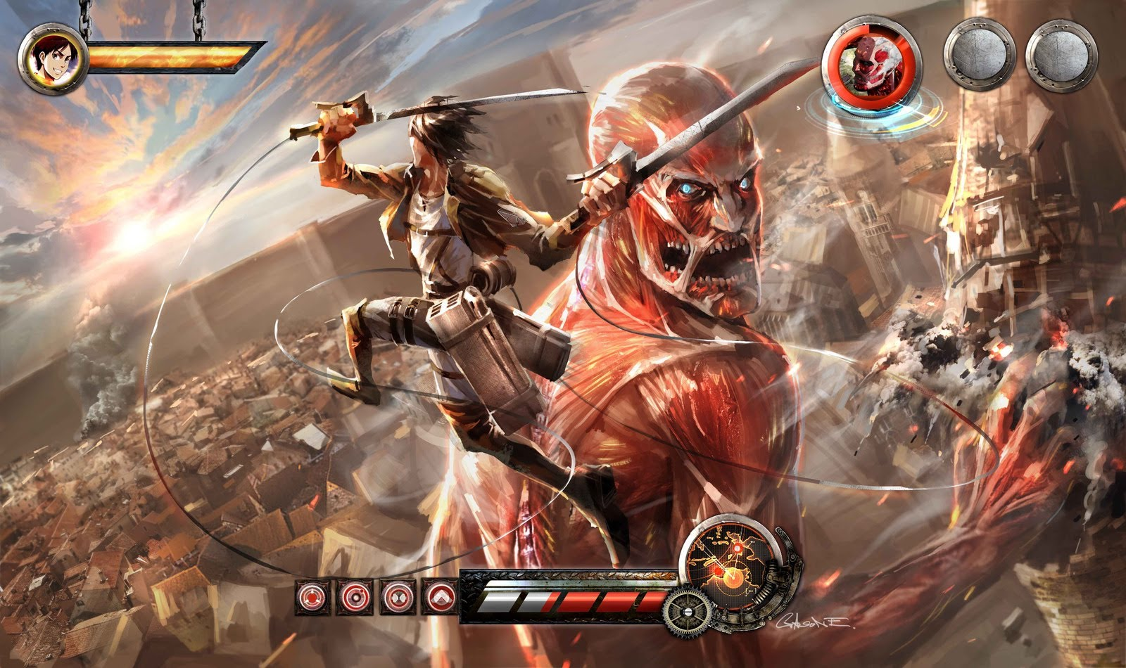 Attack on Titan is heading to the PS3   PS3 News   Playstation Gamer 1600x950