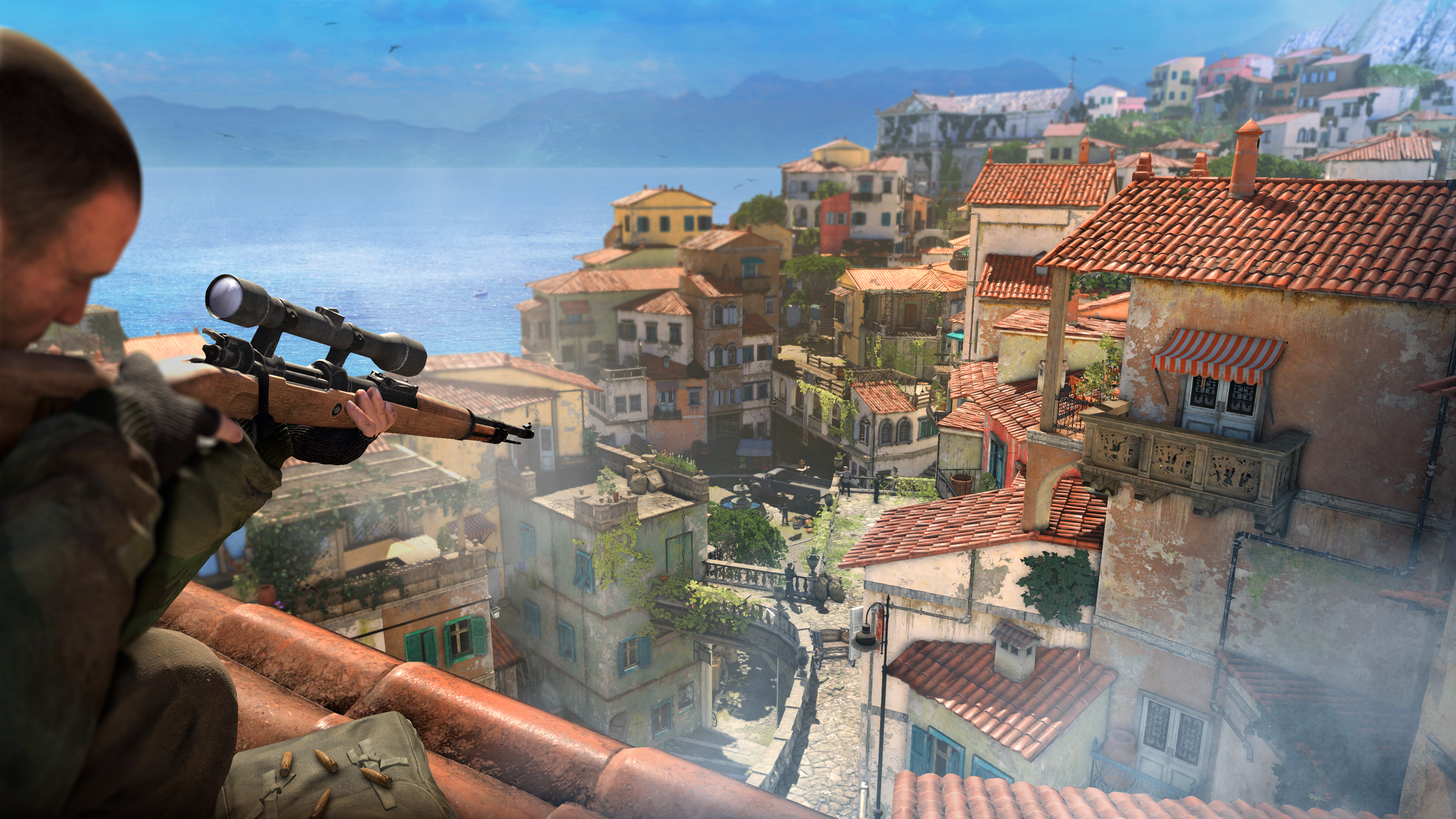 Sniper Elite 4 HD Wallpapers and Background Images   stmednet 3840x2160