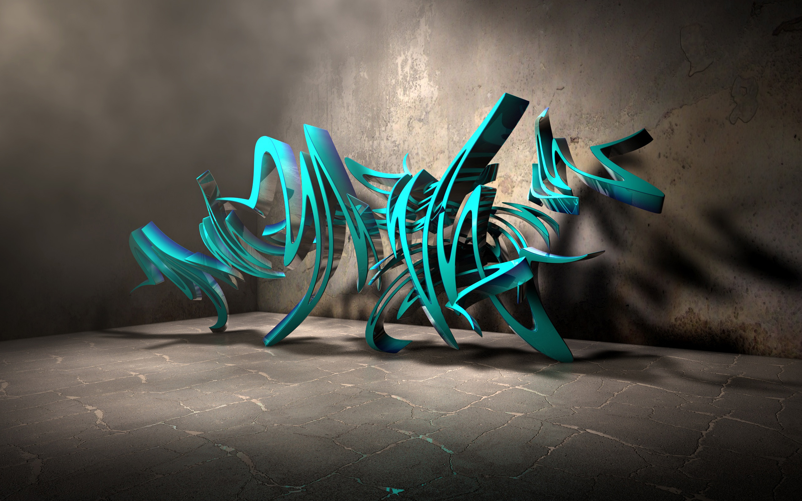 Abstract Graffiti Wallpaper 2560x1600