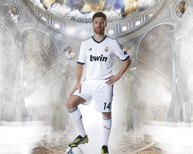 New Xabi Alonso wallpaper HD Real madrid 2013   2014 FULL HD High 640x512