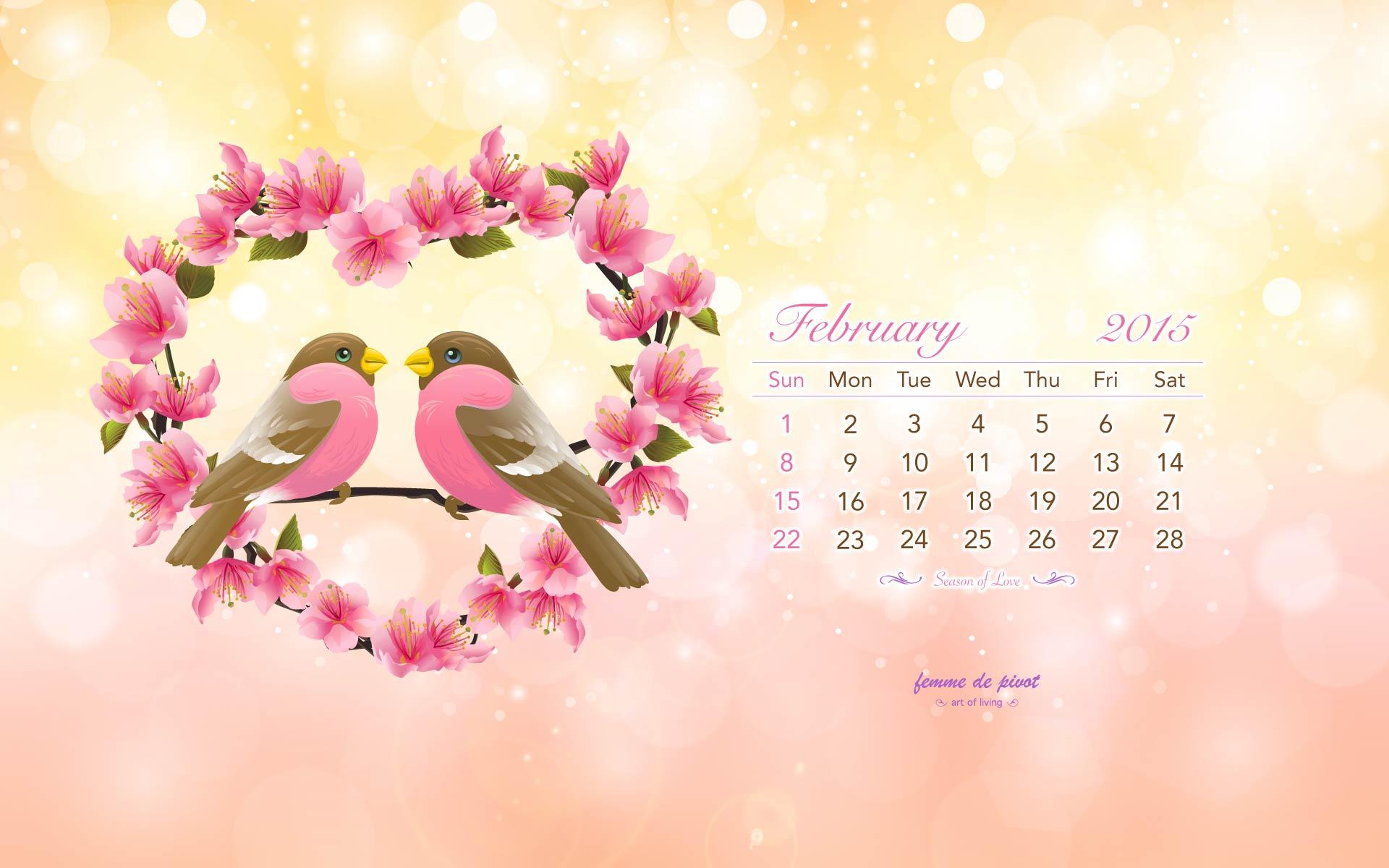 16417 desktop wallpaper calendar february 2015 1920x1200