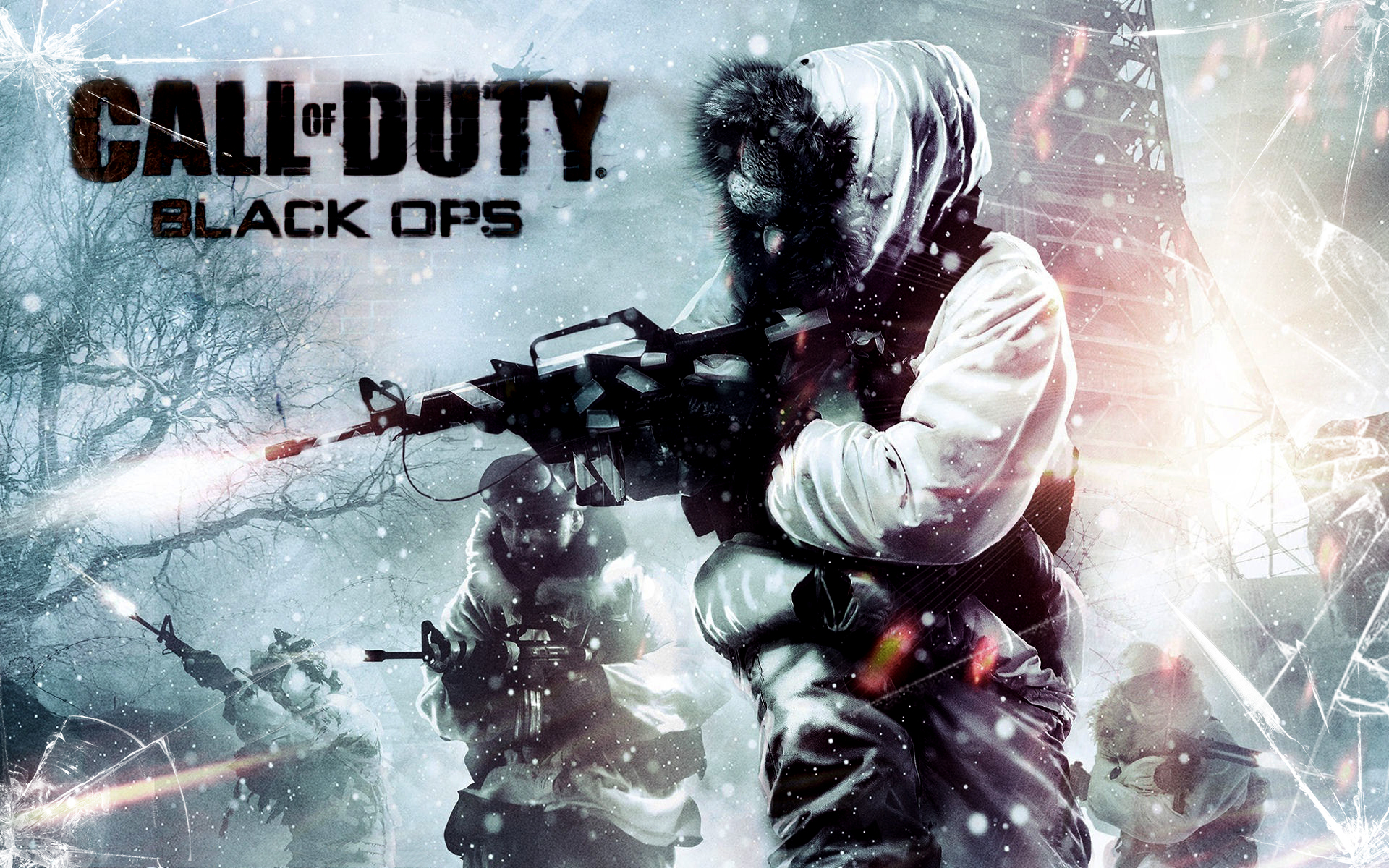 Black Ops Snow Fight 1920x1200