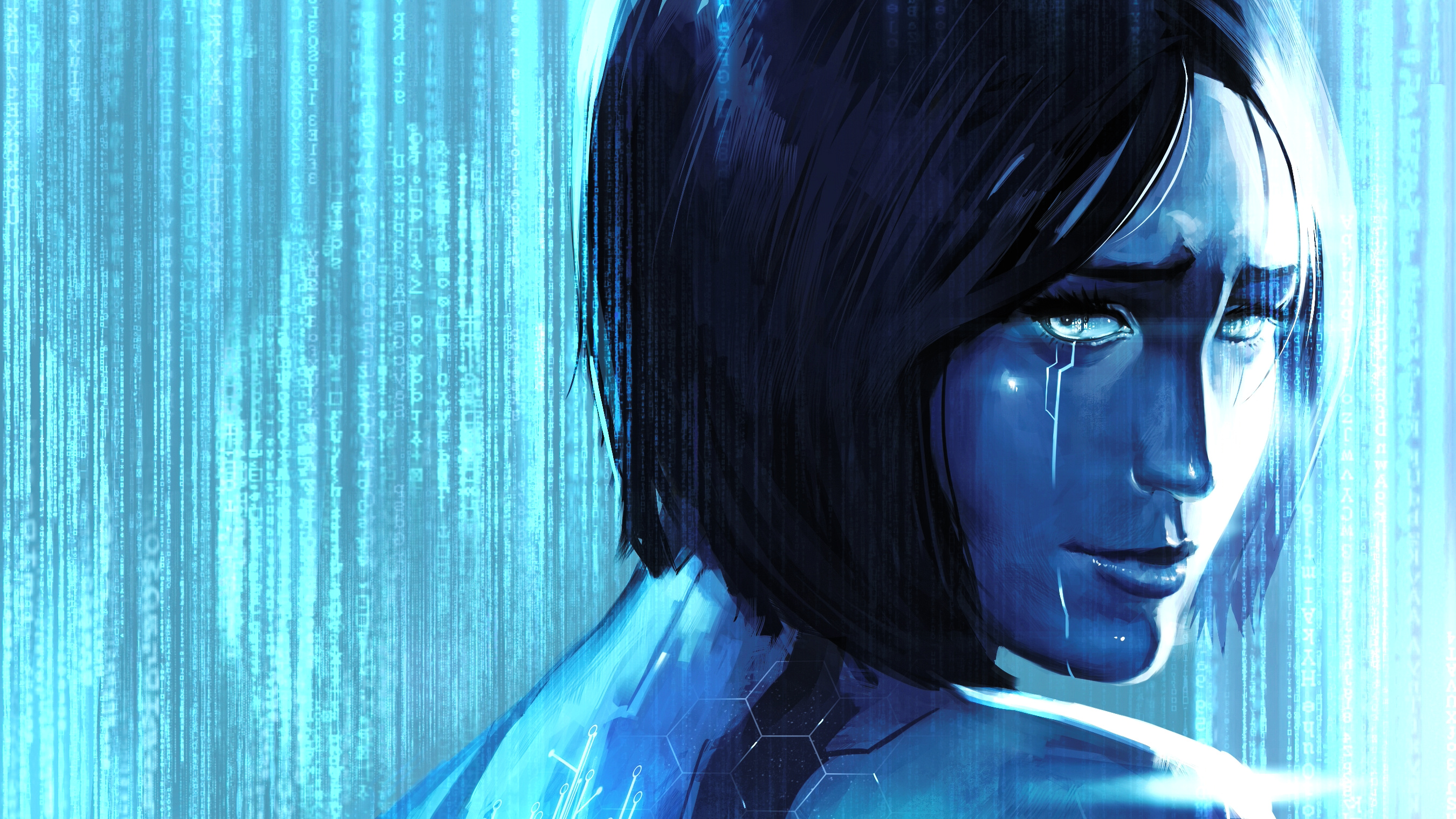 20 Cortana Halo HD Wallpapers Background Images 2700x1519