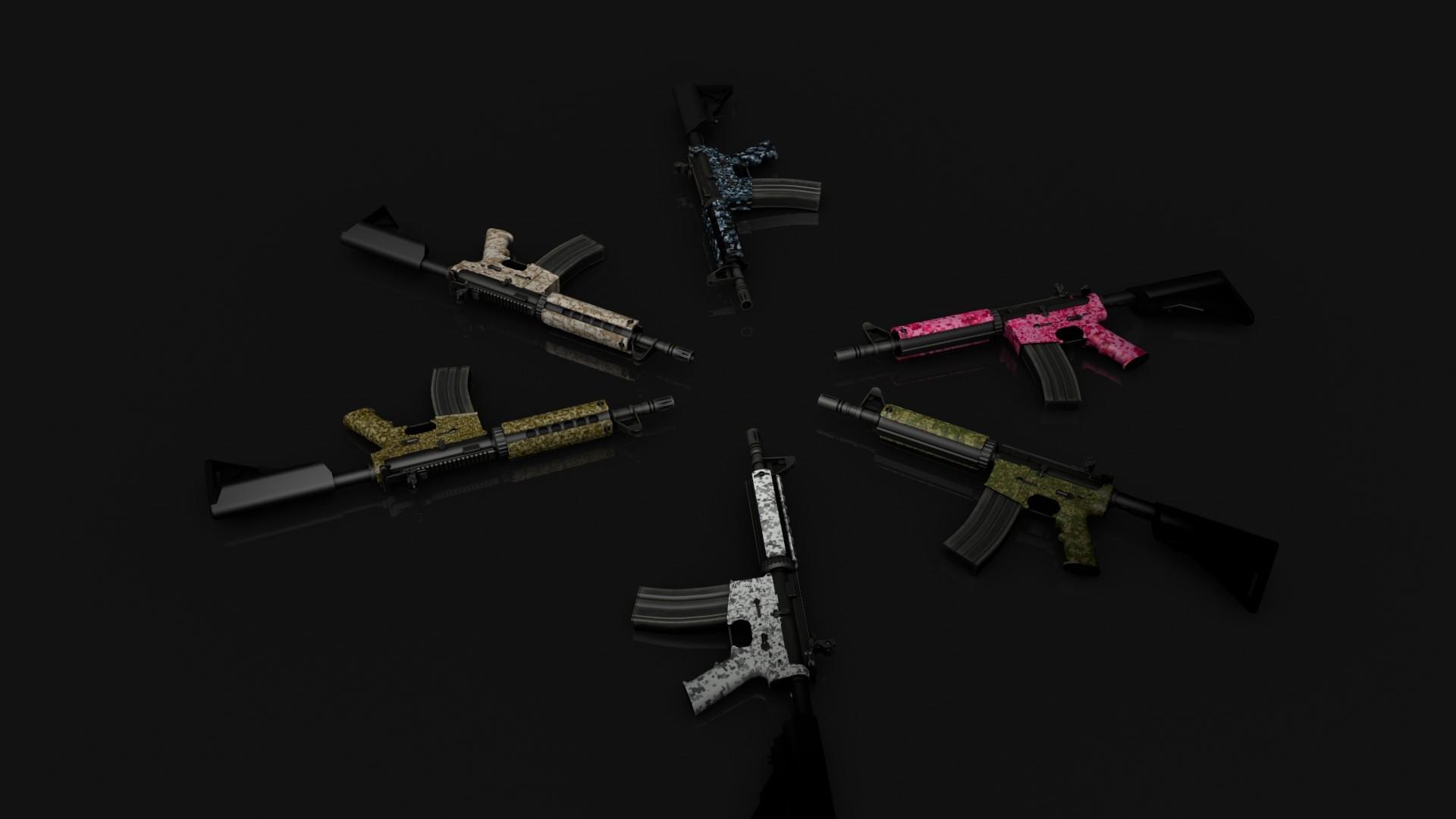 Counter Strike Global Offensive Addon Digital Camo Pack M4 1jpg 1920x1080