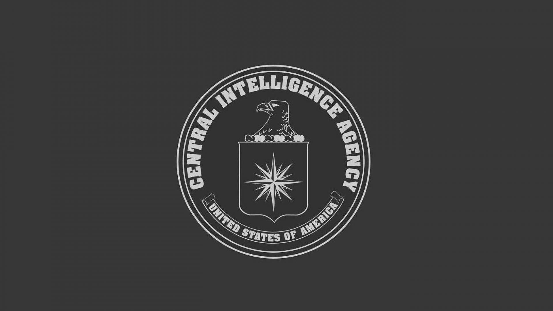 CIA Central Intelligence Agency crime usa america spy logo wallpaper 1920x1080