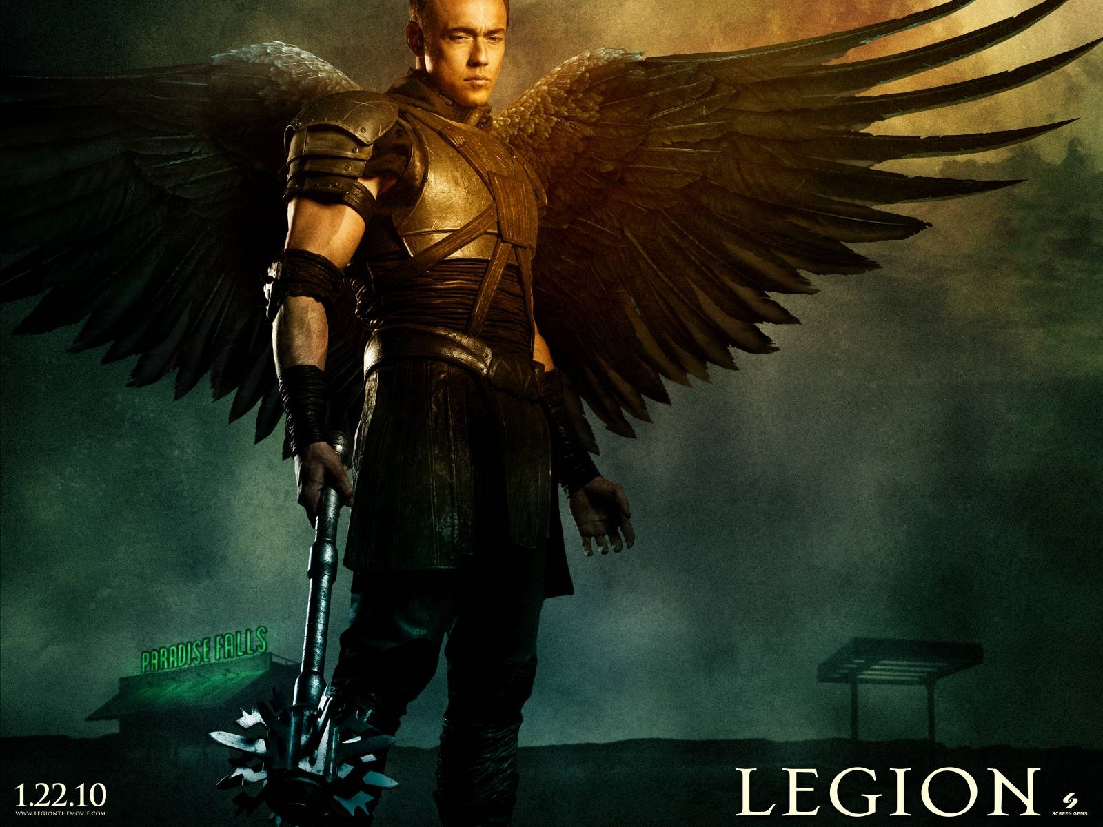 2010 Legion Movie 2 Wallpapers HD Wallpapers 1600x1200
